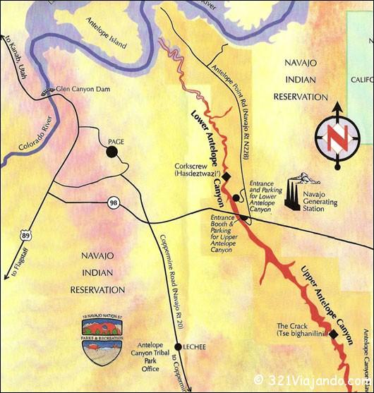 antelope-map